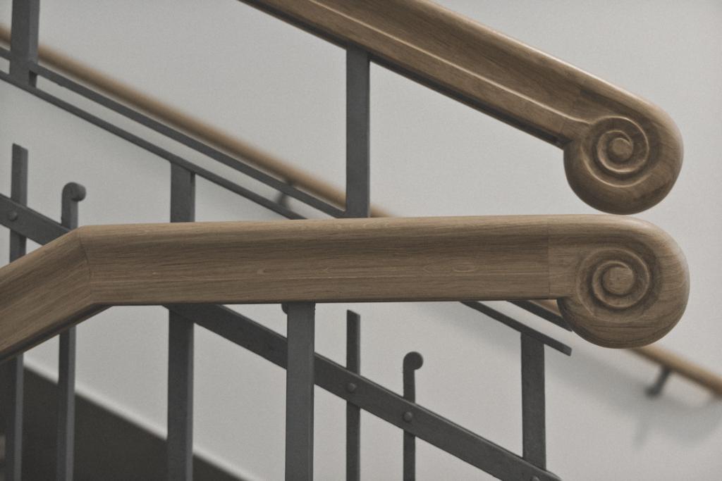 Schaffarei Treppenhaus Details